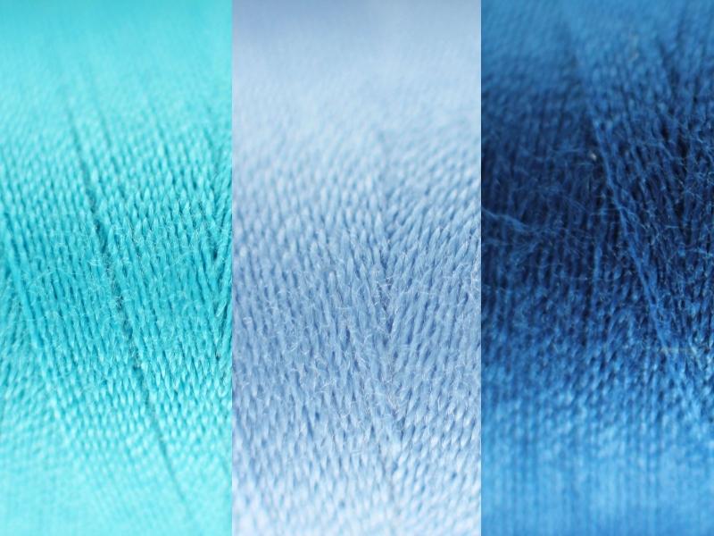 Naaigaren 500mtr blauw tinten