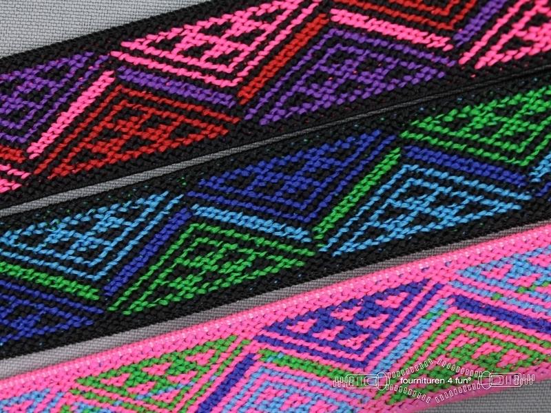 Multicolor elastiek