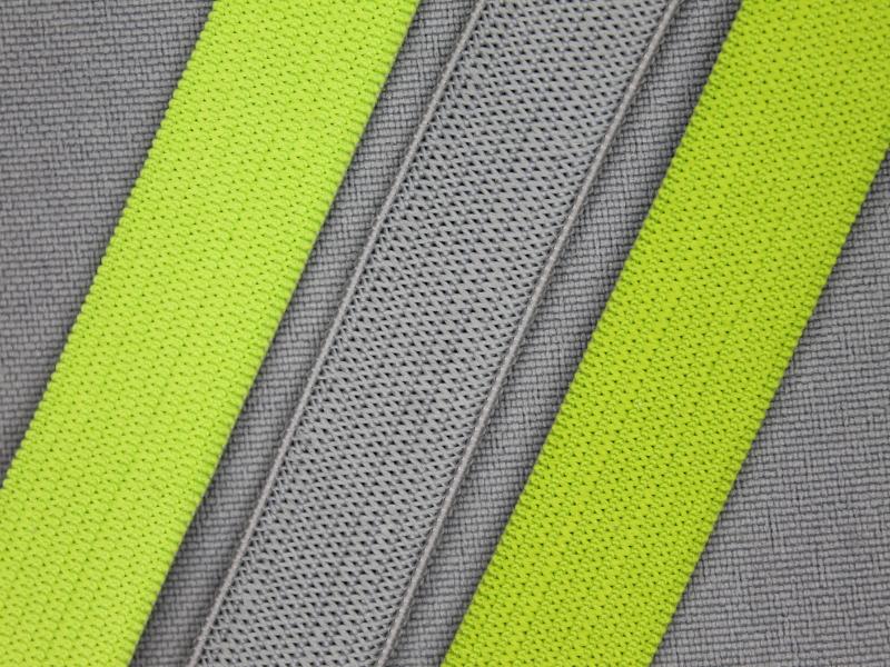 Gekleurd stevig elastiek