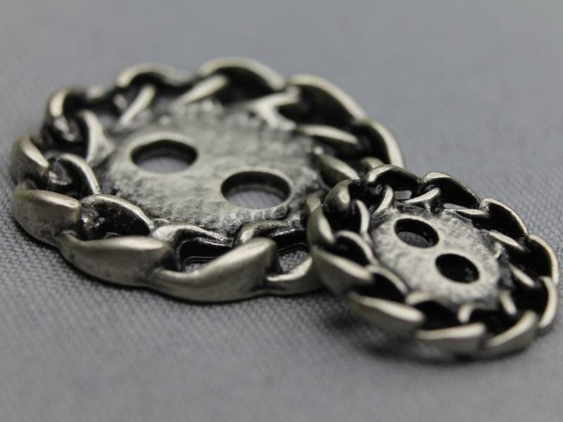 Zilveren knopen
