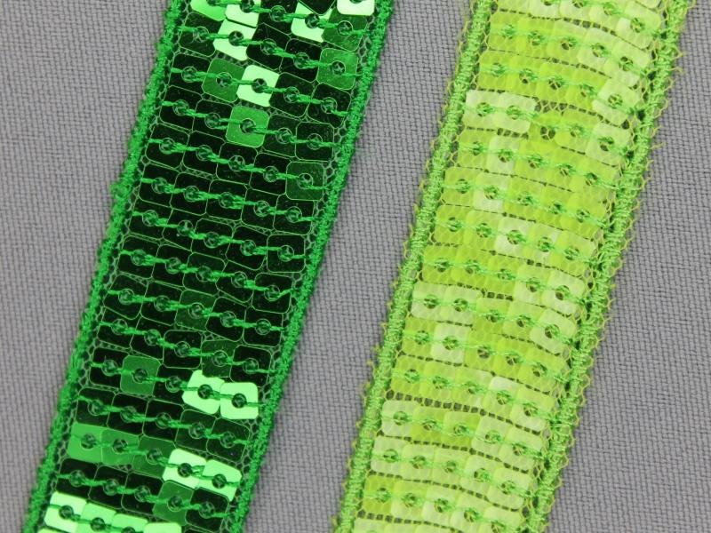 Paillettenband - niet elastisch