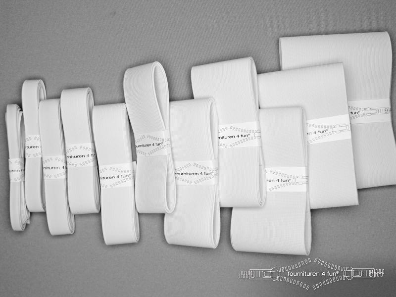 Band elastiek stevig wit