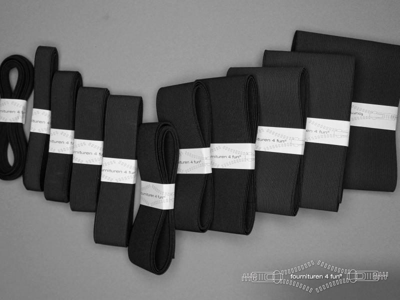 Band elastiek stevig zwart