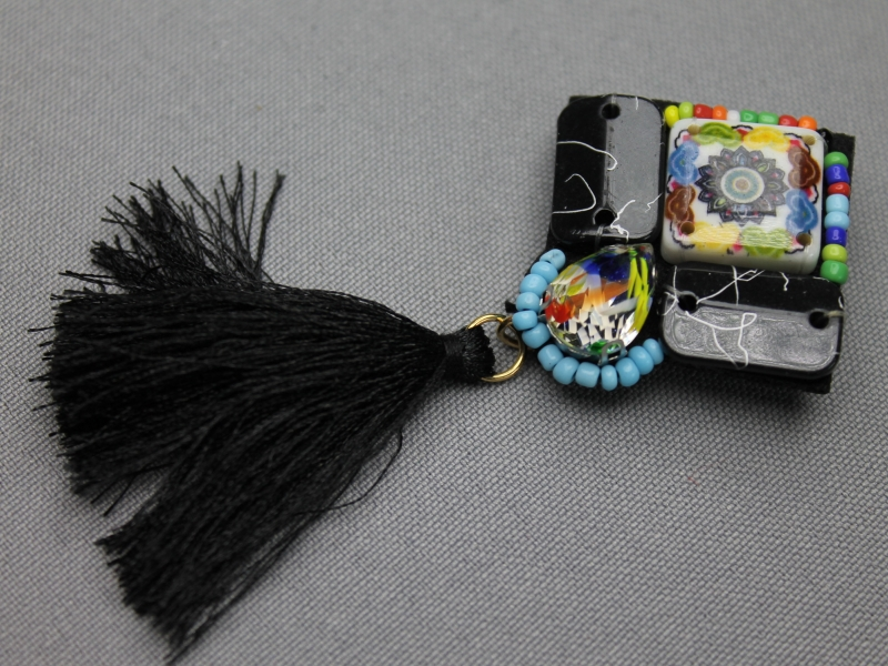 Indian style corsage