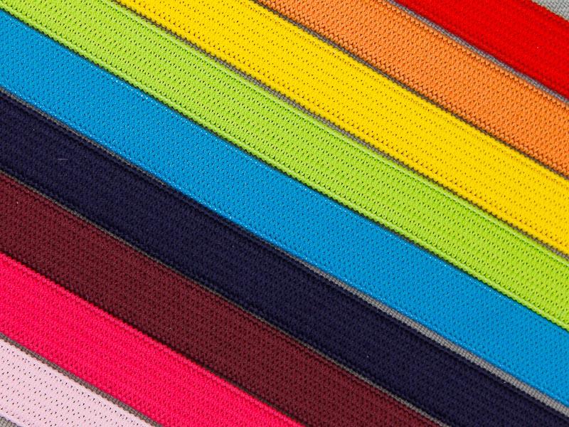 Nieuw gekleurd elastiek 10mm