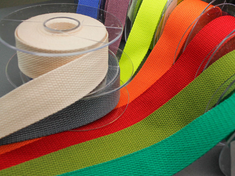 Rol katoen-look tassenband 5 meter