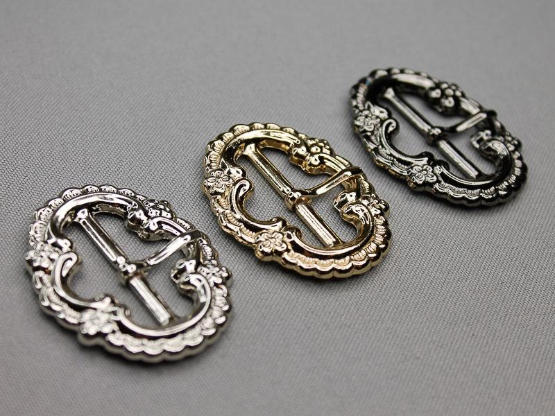 Nieuwe metalen siergespen