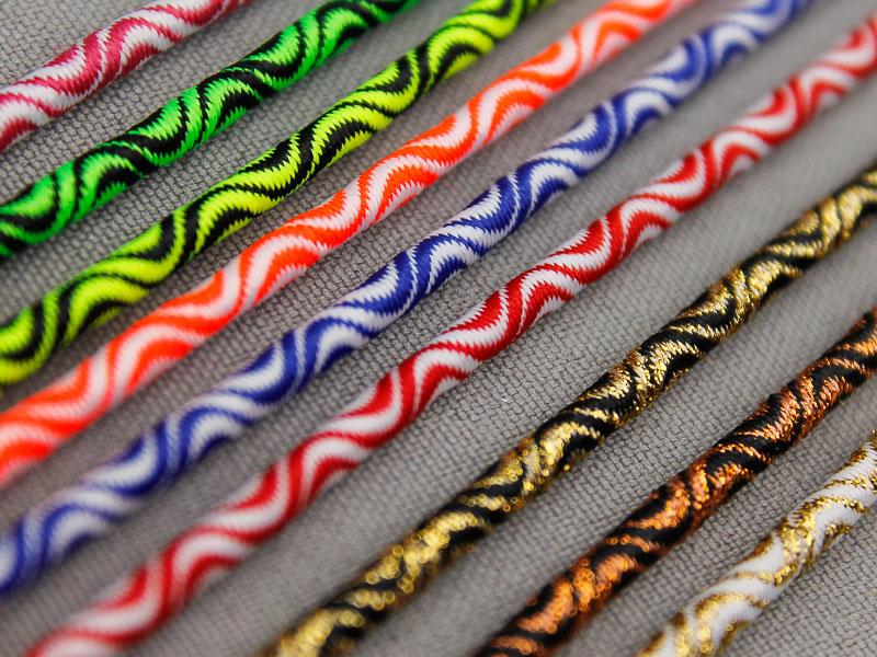 Elastisch koord multicolor