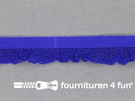 Elastisch kant 15mm kobalt blauw