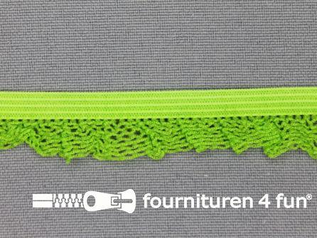 Elastisch kant 15mm lime groen