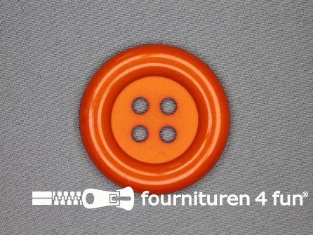 Clown knoop 54mm oranje