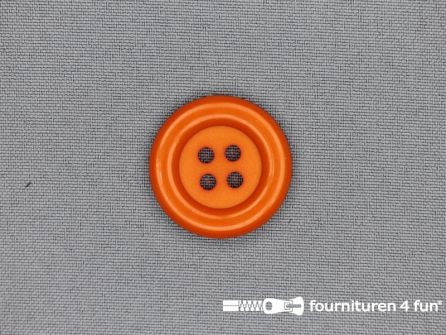 Clown knoop 28mm oranje