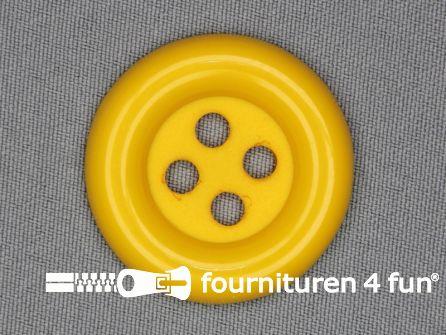 Clown knoop 72mm mais geel