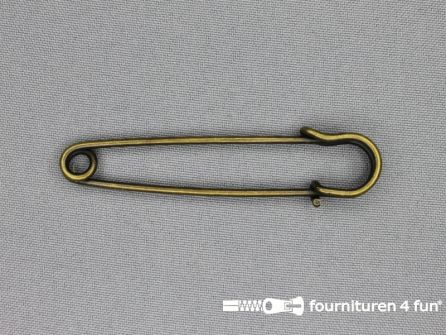 Kiltspeld 76mm geel brons