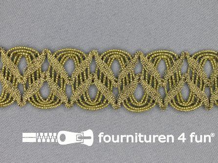 Goud band 28mm antique goud