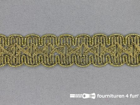 Goud band 20mm antique goud