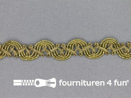 Goud band 15mm antique goud