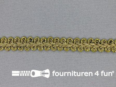 Goud band 11mm antique goud