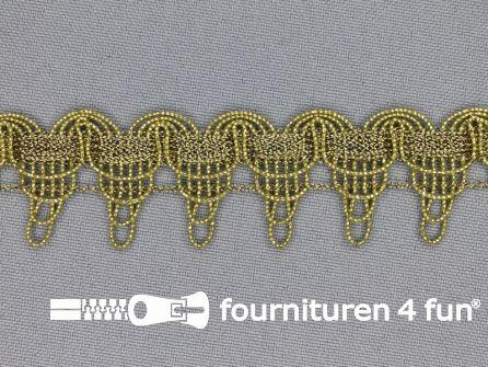 Goud band 25mm antique goud