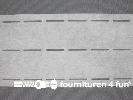 Stansband/Plak-en-vouw-om/Perfoband 35mm wit