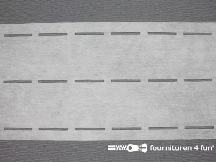 Stansband/Plak-en-vouw-om/Perfoband 40mm wit