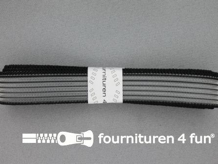 Rimpel elastiek 19mm zwart