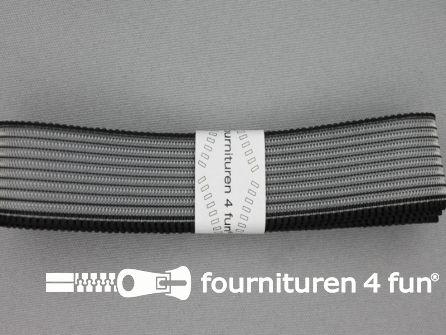 Rimpel elastiek 30mm zwart
