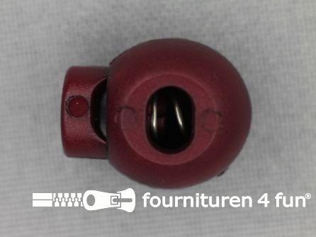 Koord stopper 18mm bal kersen rood