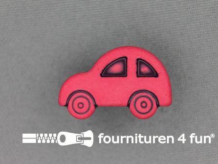 Kinderknoop 25mm auto - rood
