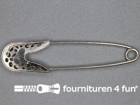 Kiltspeld 81mm chroom - zilver