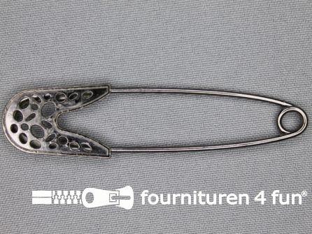 Kiltspeld 81mm zwart - zilver