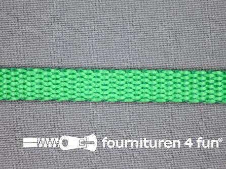 Halsband uni colour 10mm groen
