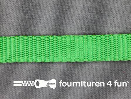 Halsband uni colour 15mm groen