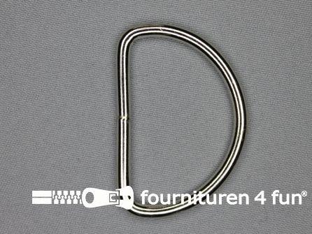 Heavy duty D-ringen 50mm vernikkeld