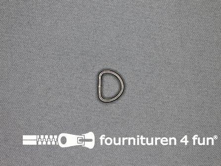 Heavy duty D-ringen 10mm vernikkeld