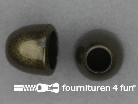 Kunststof koord uiteinde 10mm brons