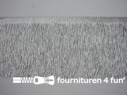 Zilver franje 130mm