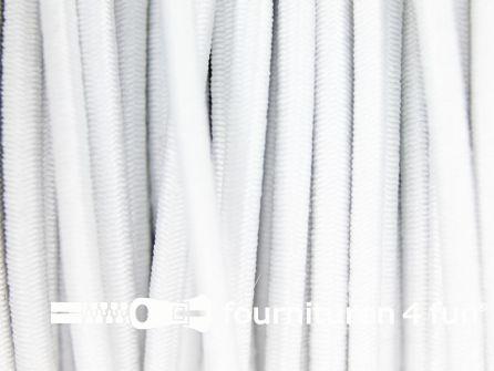 Rol 100 meter elastisch koord 3mm wit