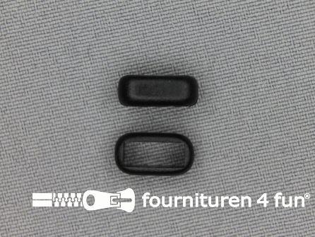 Schuifpassant 10mm zwart kunststof