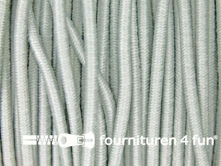 5 meter elastisch koord 2,5mm licht grijs