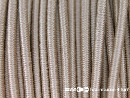 Rol 100 meter elastisch koord 2,5mm beige