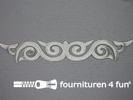 Zilver applicatie 240mmx37mm