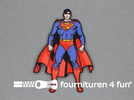 Disney applicatie 55x83mm superman - staand