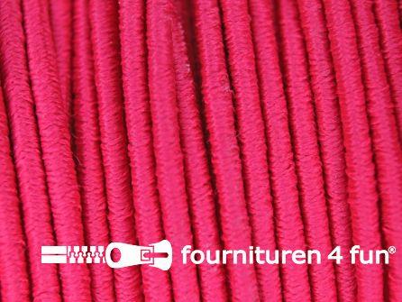 5 meter elastisch koord 2,5mm fuchsia roze