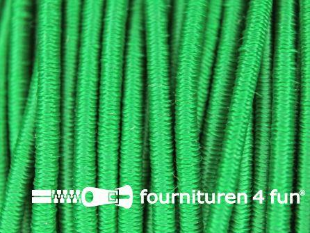 Rol 100 meter elastisch koord 2,5mm groen