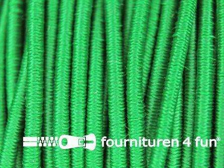 5 meter elastisch koord 2,5mm groen