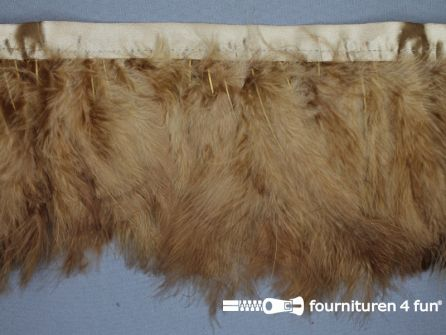 COUPON 0,85 meter Verenband 150mm camel - beige