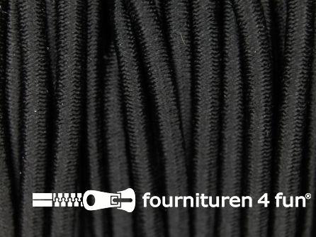 Elastisch koord 3mm zwart