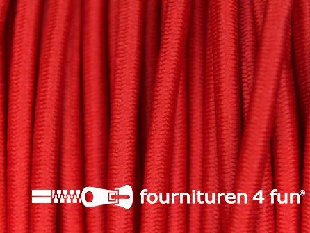 5 meter elastisch koord 3mm rood