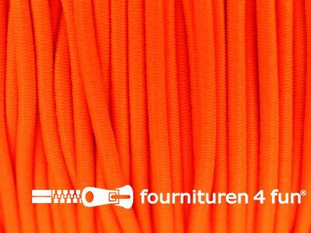 5 meter elastisch koord 3mm oranje